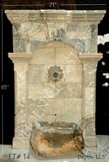12th_Century Wall Fountain