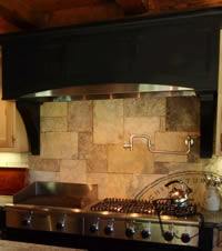 Biblical Stone Back-splash Reno NV